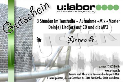 Geburtstag Im Studio Ulabor Tonstudio Berlin Heiligensee