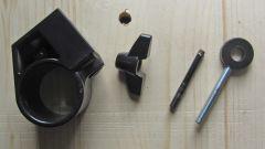 Millenium E-Drum Set: gebrochene Halteklammer Reparatur